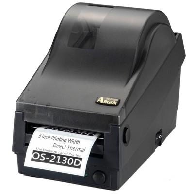 Принтер этикеток Argox OS-2130D-SB (термопечать, интерфейсы COM и USB, ширина печати 72 мм, скорость 104 мм/с)